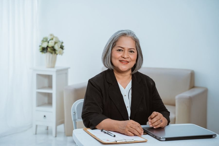 older business woman